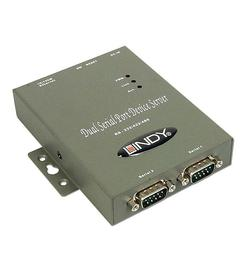 IP Serial Server RS-232/RS-422/RS-485 mit 2 Ports